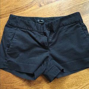JCrew black shorts